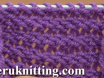 The Reverse Stockinette Stitch Knitting Tutorial 5 Part 2 of 2 Second Way