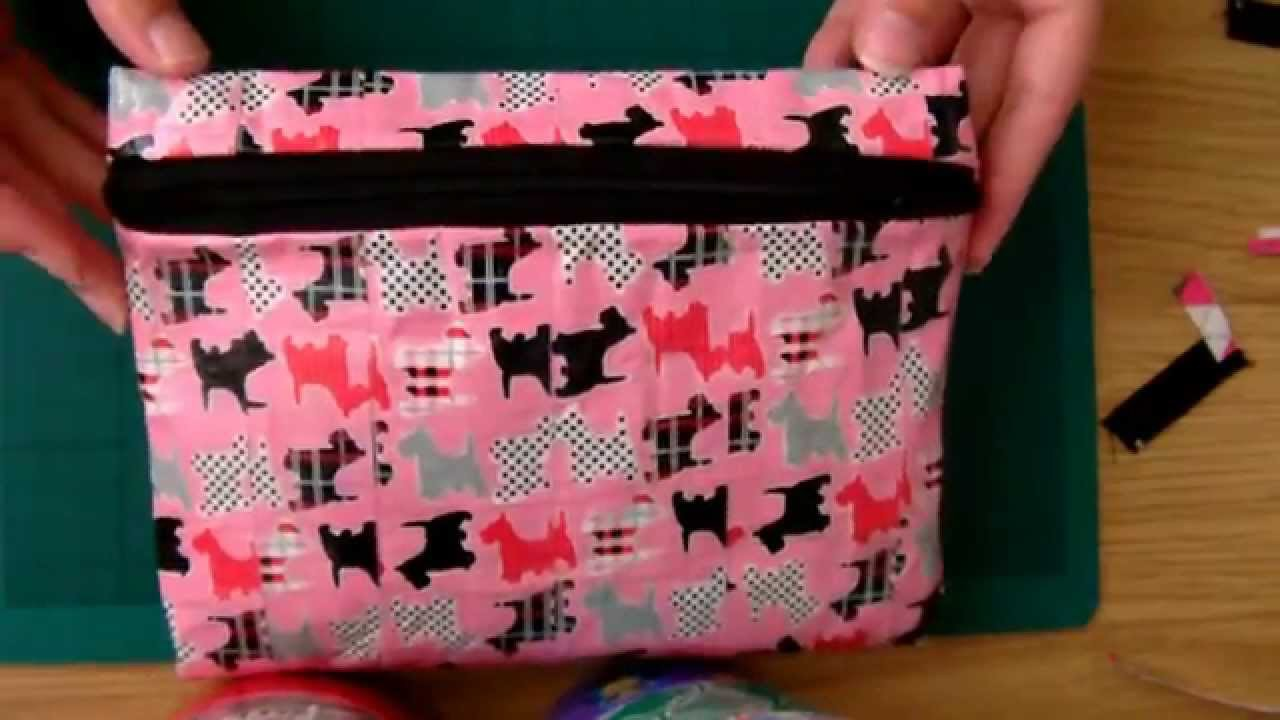 Tutorial: Duct Tape Pencil Case (with zip)
