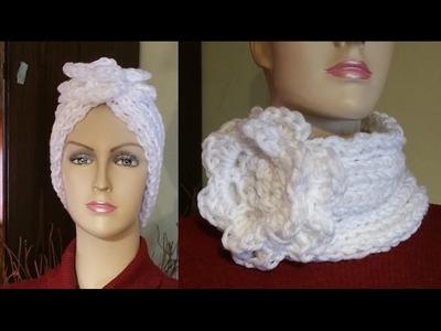 Tutorial fascia scaldacollo maglia e uncinetto - banda a dos agujas . knitting band
