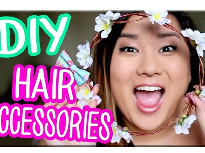 3 Easy DIY Hair Accessories with MissRemiAshten