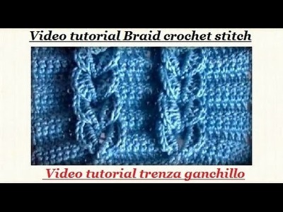BRAID CROCHET STITCH-English Tutorial