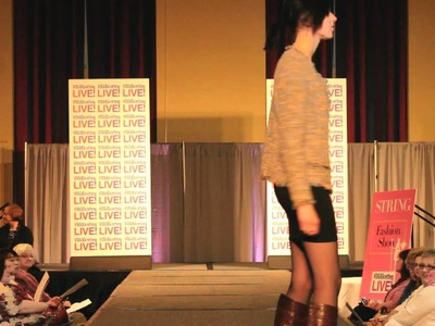 Chanel Jacket - String at Vogue Knitting Live 2011