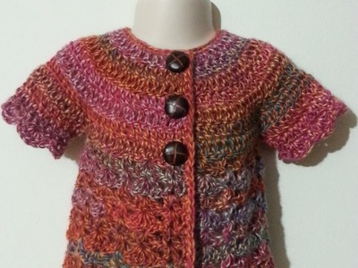 #Crochet Cute Baby Shirt #TUTORIAL crochet infant crochet sweater