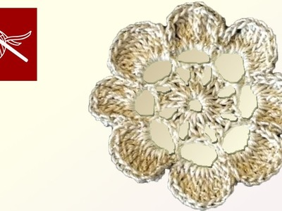 Crochet Geek - Flower Laurel - Thread Crochet Crochet Geek