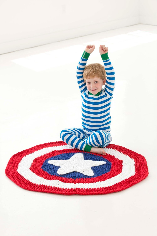 #Crochet Superhero Blanket  (Video  1) Lionbrand pattern