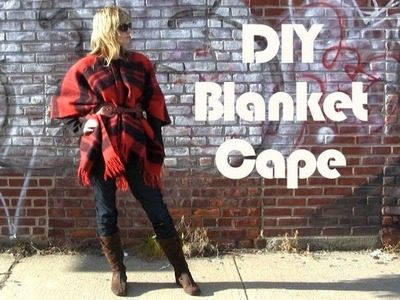 DIY Blanket Cape