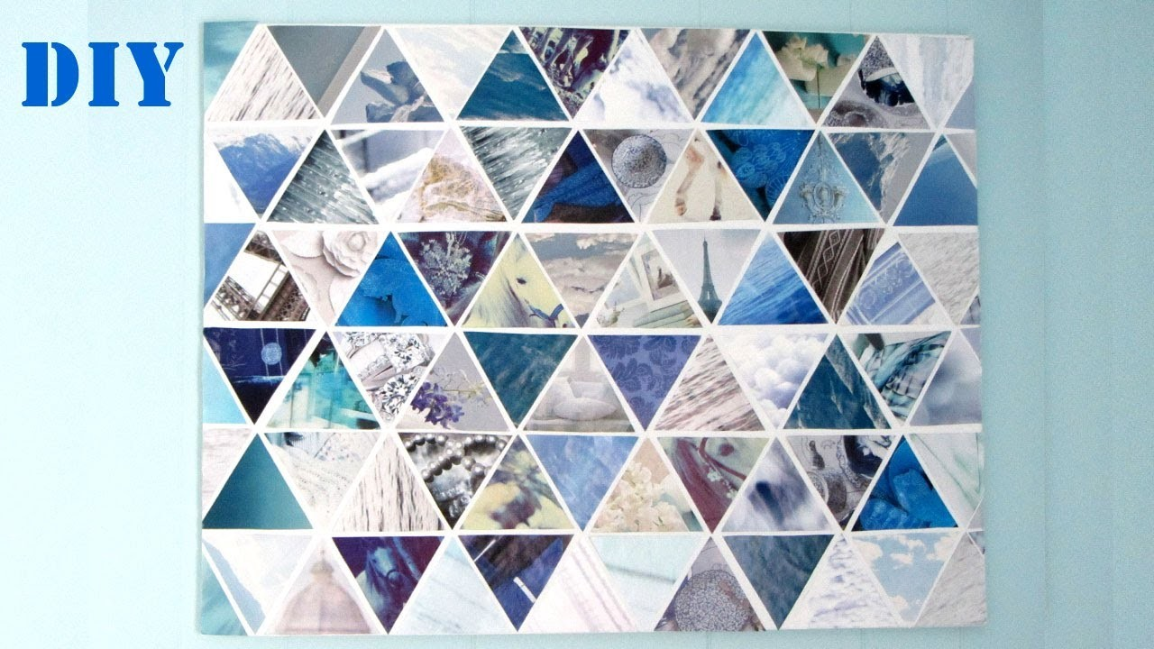 DIY Canvas Art : Canvas Wall Art