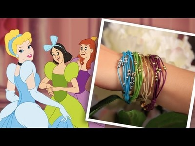 DIY Cinderella Inspired Bracelets | An Anneorshine | Disney Exclusive