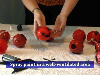 DIY Halloween Lanterns - Goodwill Home Decor Expert Merri Cvetan