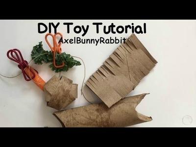 DIY.Homemade Bunny Toy Tutorial | AxelBunnyRabbit