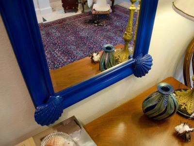 DIY: How to Build a Blue Shell Mirror for Under $40