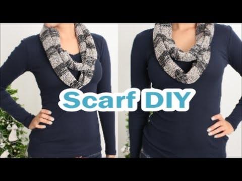 DIY:How to Infinity Scarf DamaV425