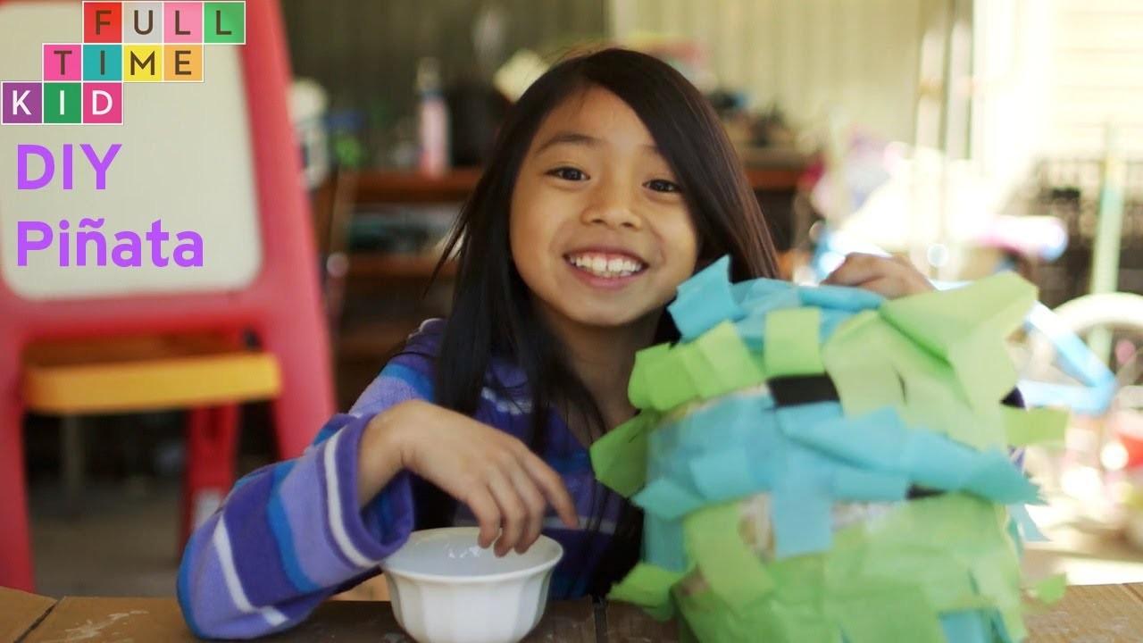 DIY Piñata | Full-Time Kid | PBS Parents