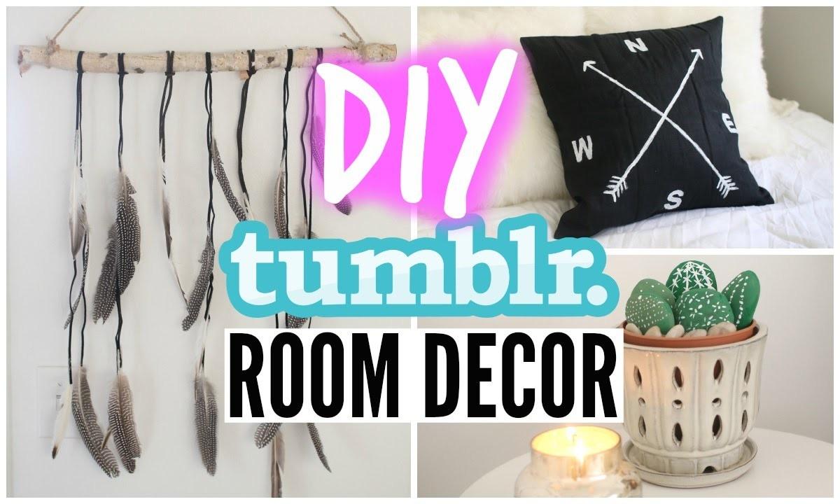 DIY Tumblr Room Decor For Cheap!