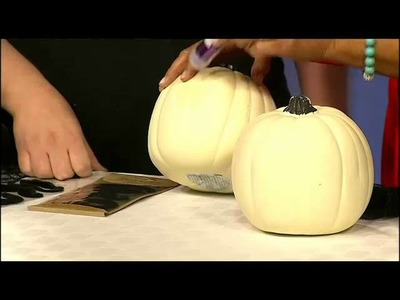 Dollar Store Crafts: No Carve Pumpkin Craft Ideas