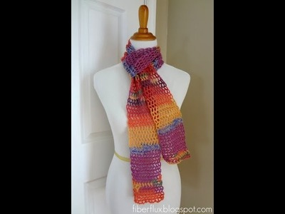 Episode 17: How to Crochet the Mango Salsa Scarf