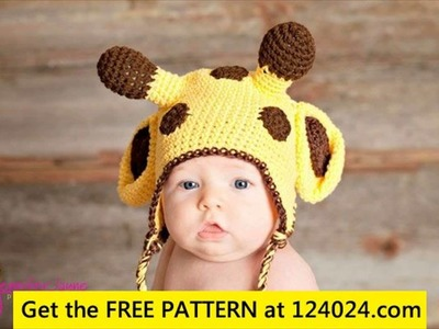Free crochet patterns for baby animal hats