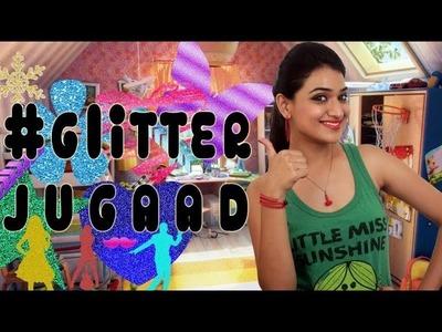 #GlitterJugaad (Christmas Decorations) | #Jugaad | DIY