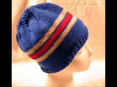 Hats For The Homeless 1 - Knitting