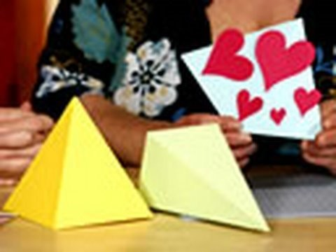 How to make 3-D cards in 5 minutes