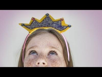 How to make a princess tiara, Handicrafts fancy customes