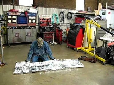 How To Make A Tube Tent Out Of A  Emergency Blanket