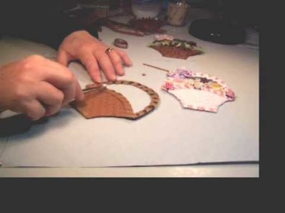 How to make an Easter Basket for Scrapbooking Part 3.wmv