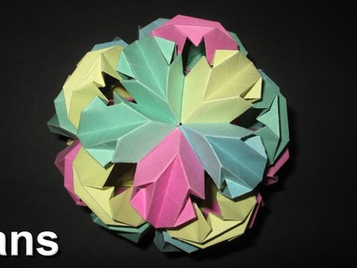 How to make an Origami Ksusdama Modual