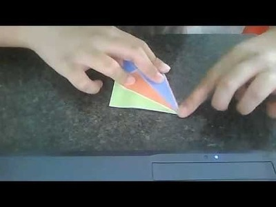 How to make an origami squid