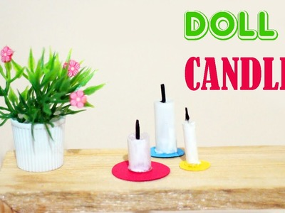 How to make Doll Candles - Easy Doll Crafts