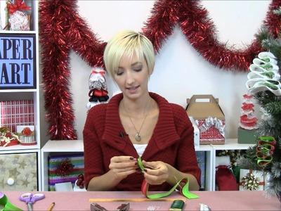 How to make Ribbon Ornaments