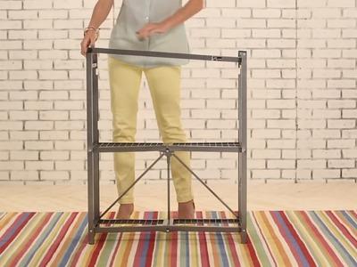 HSN Originals | Origami 3-Tier Folding Shelves