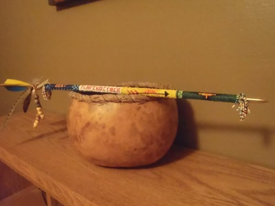 Indian Beadwork for Boy Scout Arrow of Light.Bridging Ceremony Part 2
