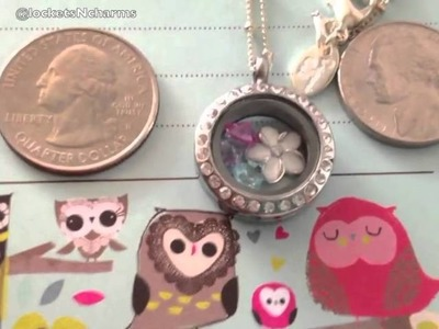 Jennylou's Silver Mini Locket from Origami Owl 2012