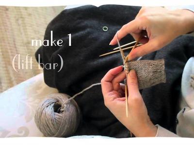 Knitting the gusset