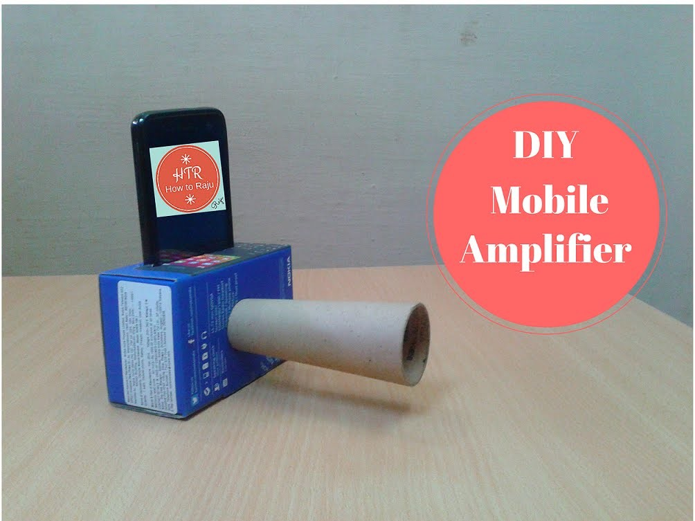 Make a Cheap DIY Smartphone Amplifier.Speaker to Boost the Volume
