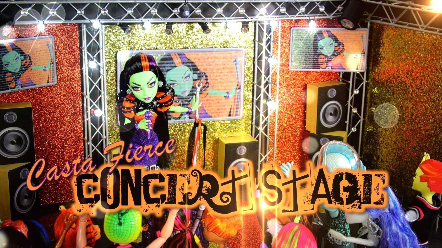 Monster High Special: Casta Fierce Concert Stage - Doll Crafts