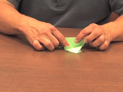 Origami Frog That Hops : Origami Animals