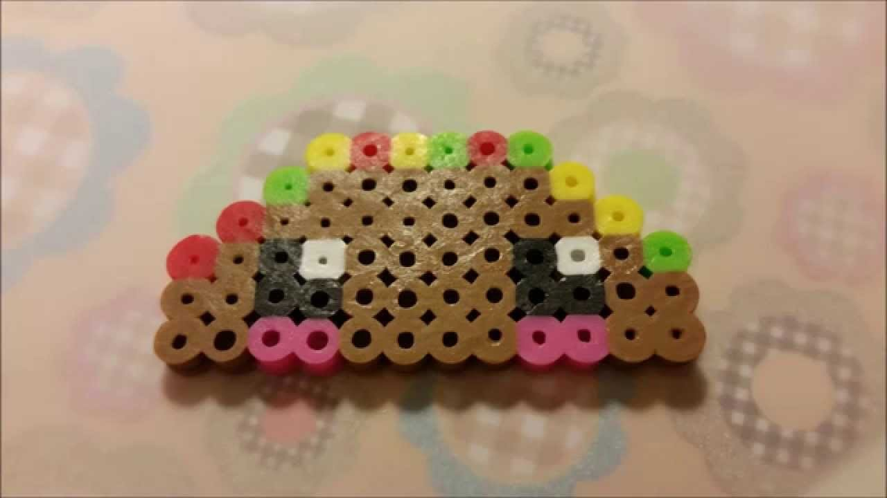 Perler Bead Kawaii Taco Tutorial (Easy)