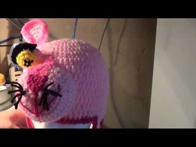 Pink Panther Crochet Tutorial Pt. 4