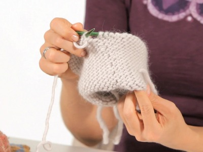 Reverse Stockinette Stitch in the Round | Circular Knitting
