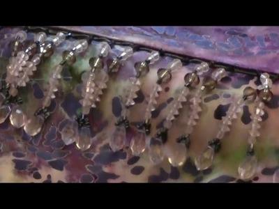 Sewing Beaded Fringe Trim - Episode 2