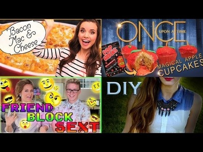This Week on PSGG Ingrid Dishes Bacon Mac And Cheese, DIY Ombre Button Up & More!