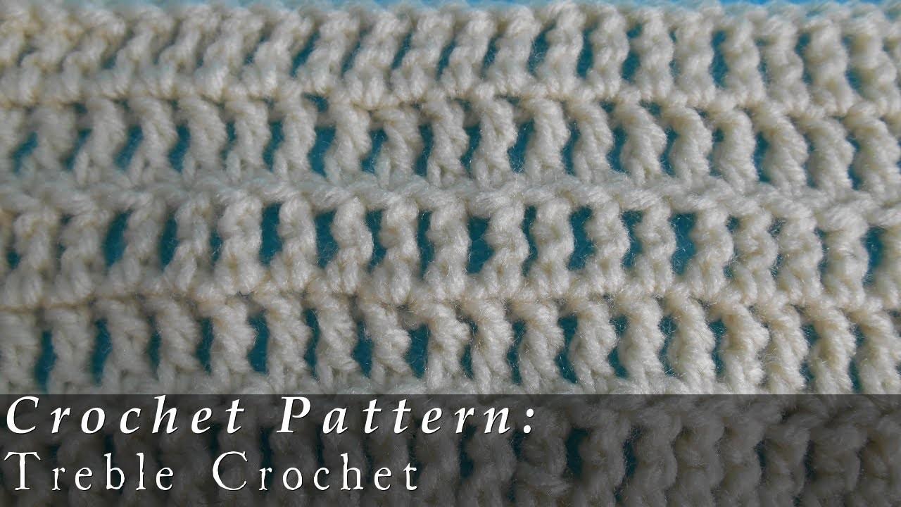 Treble Crochet | Pattern | Crochet Challenge 4.63
