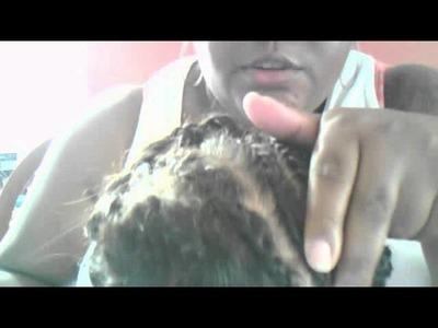 Update Crochet fluffy twist tutorial (ROUGH DRAPH!!!!)