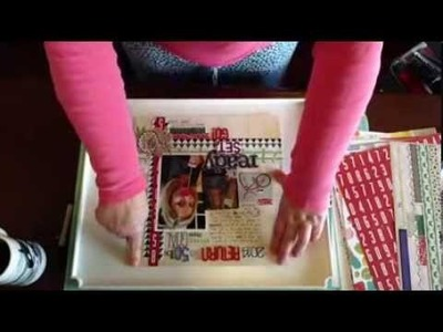2 Minute Scrapbook Tips: How to Photograph Scrapbook Layouts for Sharing Online