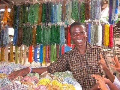 African Trade Beads - Fair Trade Krobo Beads