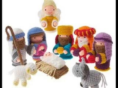 Amigurumi Nativity - Crochet Pattern Presentation