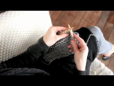 Basic Knitting Tips from Toft Alpaca: How to knit and how to purl