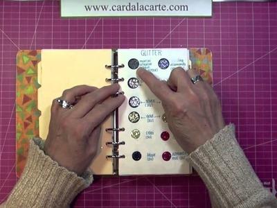 CALC Arts & Crafts Supplies Inventory Binder